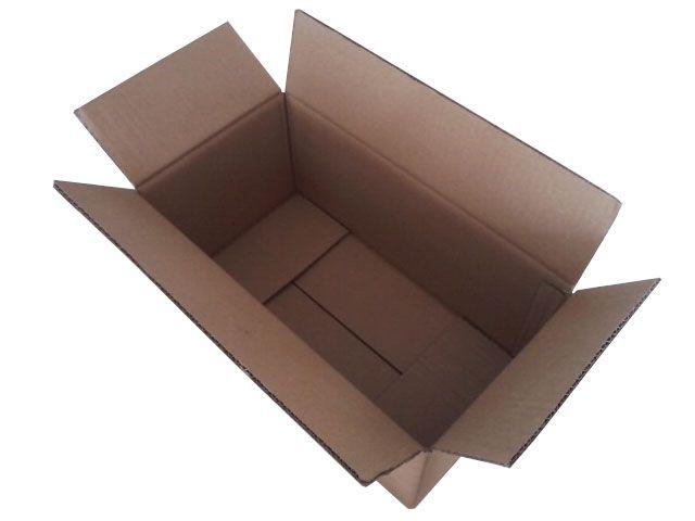 Kartons aus Wellpappe, braun - 500x350x300 mm - 1-wellig