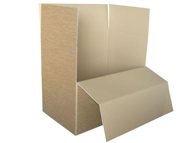 Paletten Container Aus Wellpappe Braun 1180x780x1070 Mm 2