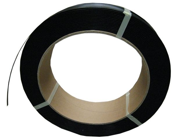 PP-Umreifungsband 905, schwarz - 12,7x0,50mmx2500m - Reißkraft 170 Kg - Kern 406 mm