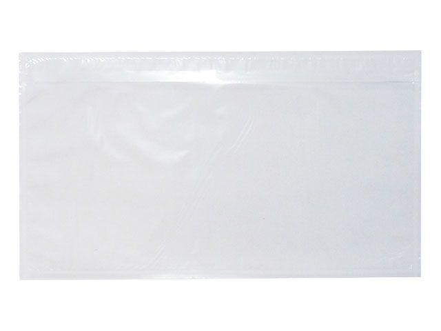 Lieferscheintaschen, transparent - DIN Lang - 235x130 mm
