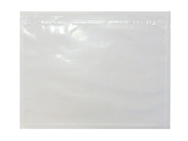 Lieferscheintaschen, transparent - DIN C4 - 320x250 mm