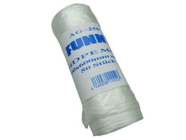Müllsäcke - Müllbeutel aus HDPE, natur - 30 L - 490x600 mm - Funny AG-258