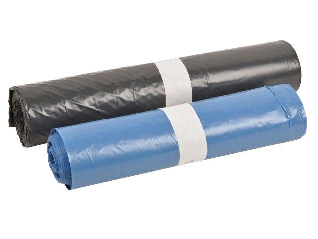 Müllsäcke - Müllbeutel aus LDPE, grau - 140 L - 800x1000 mm, Typ 70 - Funny AG-274