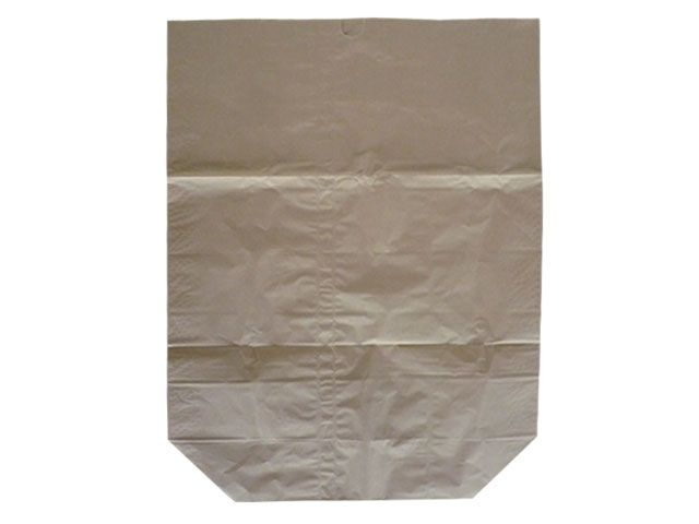 Papier-Abfallsäcke 2-lagig 2x70g/m² - ohne Druck 120 L - 700x950+220 mm