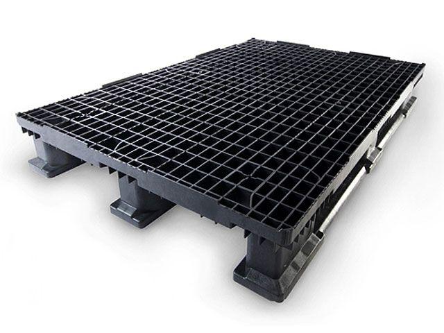 Kunststoffpaletten - 800x1200x160 mm - bis 5000 Kg belastbar - hochregalfähig