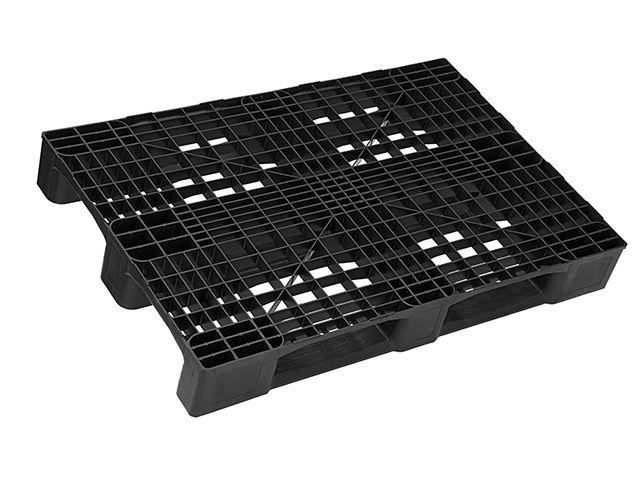 Kunststoffpaletten - 800x1200x150 mm - bis 5000 Kg belastbar - mit Rand