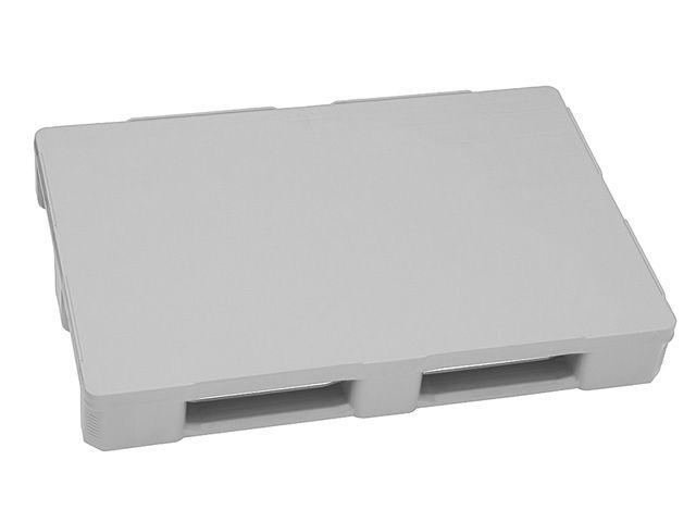 Kunststoffpaletten - 800x1200x160 mm - bis 5000 Kg belastbar - lebensmittelecht