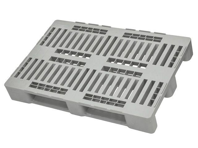 H1-Kunststoffpaletten - 800x1200x160 mm - bis 5000 Kg belastbar