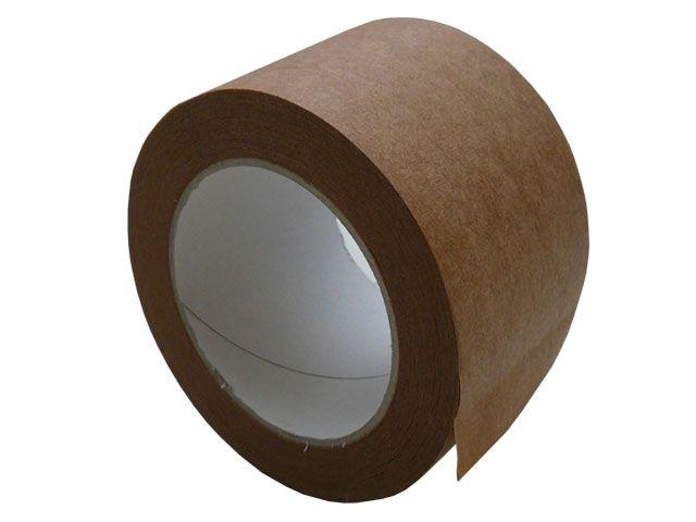 Papierselbstklebeband, braun - 50mmx50m - (Papier-Packband 210E)
