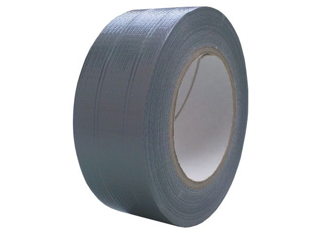 Reparaturklebeband (Gewebe- / Panzerklebeband), silber - 50 mm x 50 m