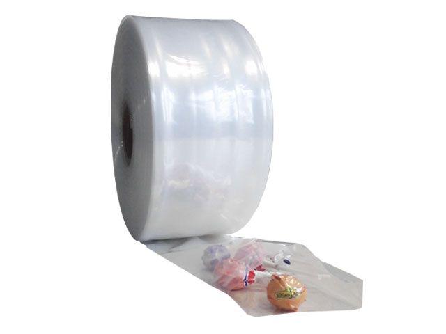 Schlauchfolie aus LDPE, transparent 150mmx500m - 50 µ - Kern 76 mm