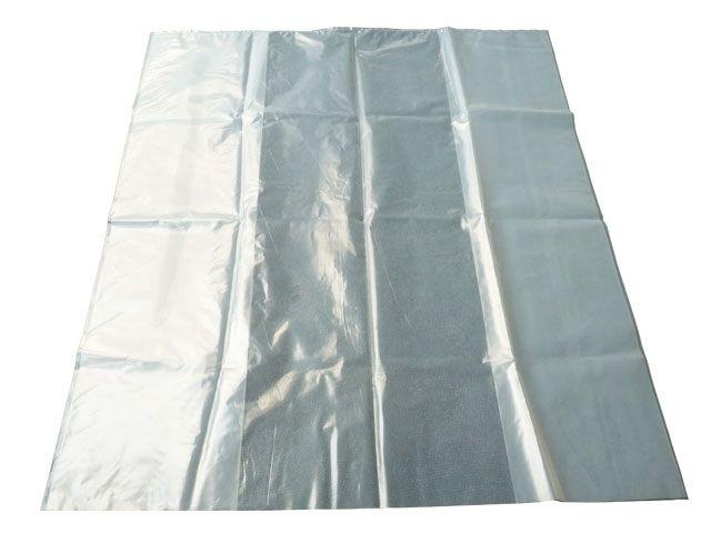 Schrumpfhauben / Abdeckhauben aus PE, transparent - 125µ - 1250/850x2400 mm