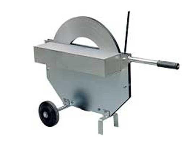 Abrollwagen für Stahlband 16 - 19 mm - Scheibenwicklung - verzinkt