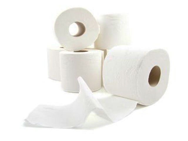 Toilettenpapier, hochweiss - extra stark - 3-lagig