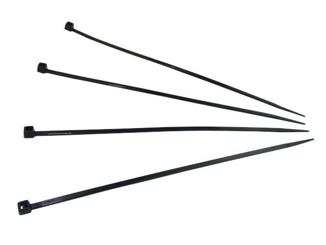 Kabelbinder, schwarz - 160x2,5 mm - extra uv-beständig