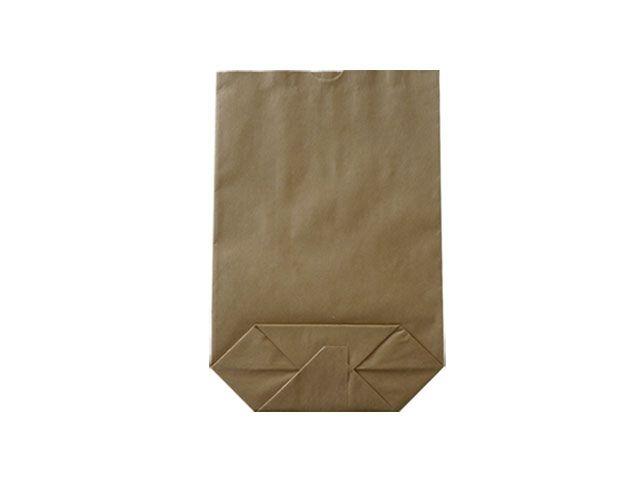 Kreuzbodenbeutel aus Kraftpapier, braun - 19x29 cm - 1,5 Kg