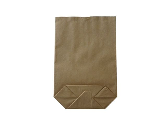 Kreuzbodenbeutel aus Kraftpapier, braun - 28x45 cm - 5,0 Kg