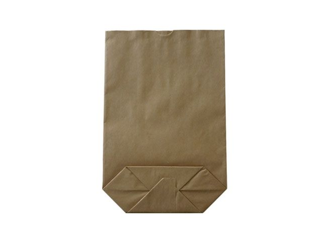 Kreuzbodenbeutel aus Kraftpapier, braun - 32x47 cm - 7,5 Kg
