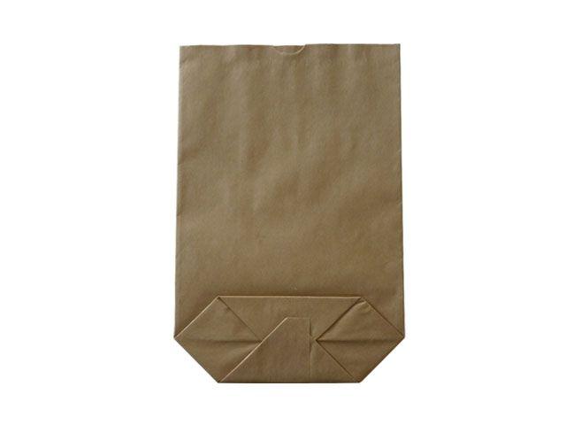 Kreuzbodenbeutel aus Kraftpapier, braun - 36x52 cm - 10,0 Kg