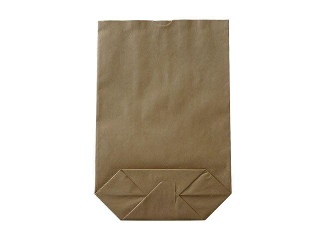 Kreuzbodenbeutel aus Kraftpapier, braun - 36x59 cm - 12,5 Kg