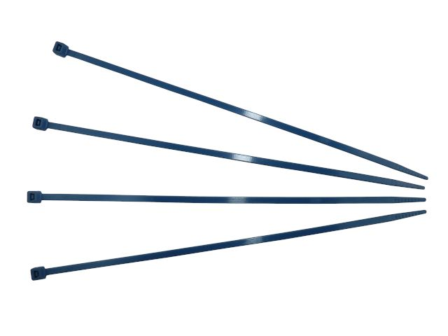 Kabelbinder, blau - 360x4,5 mm dedektierbar