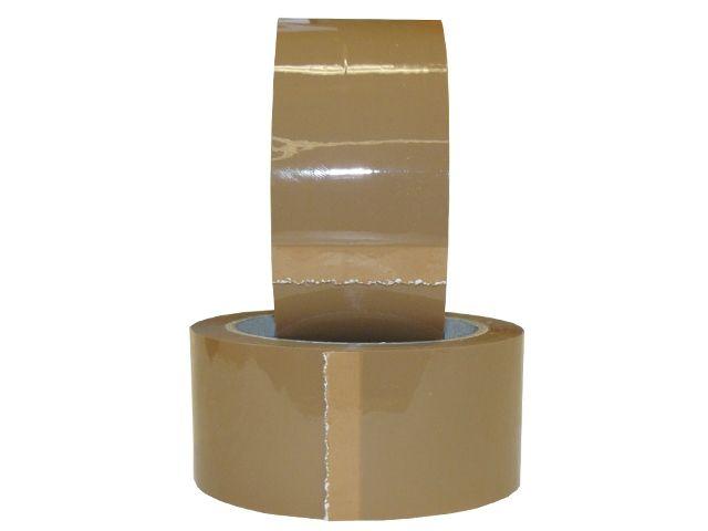 PP-Klebeband, braun - leise abrollend - 50mmx66m - 48my - Pack-Film 851 (havanna)