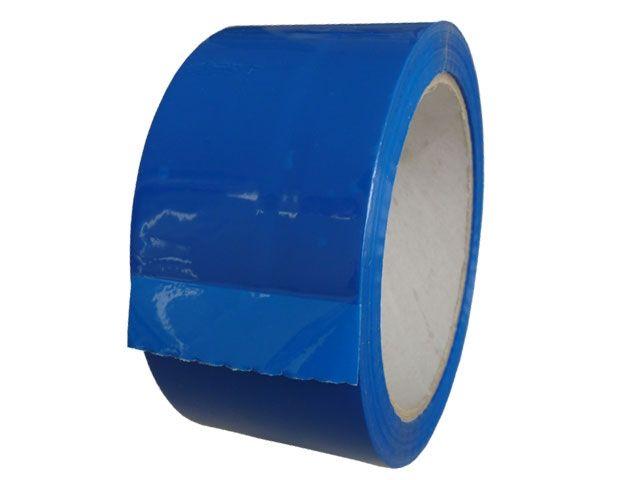 PP-Klebeband, blau - leise abrollend - 50mmx66m - 49my - Pack-Film 853