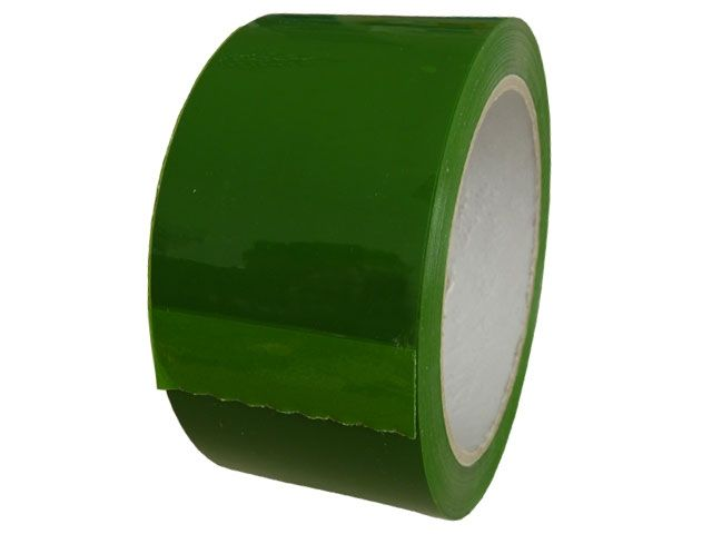 PP-Klebeband, grün - leise abrollend - 50mmx66m - 49my - Pack-Film 853