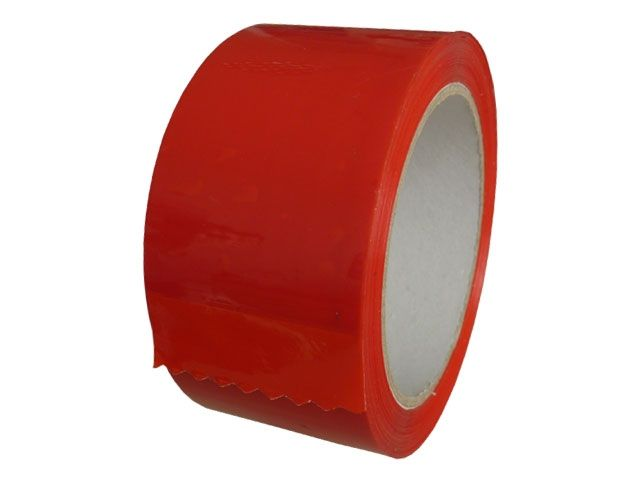 PP-Klebeband, rot - leise abrollend - 50mmx66m - 49my - Pack-Film 853