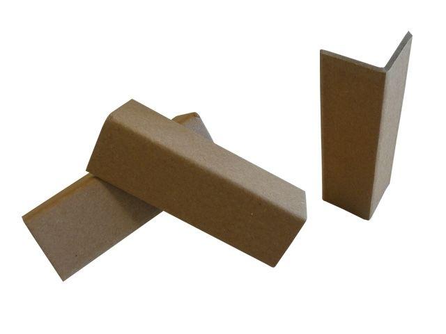 Kantenschutzwinkel aus brauner Vollpappe - 100x35x35x3 mm