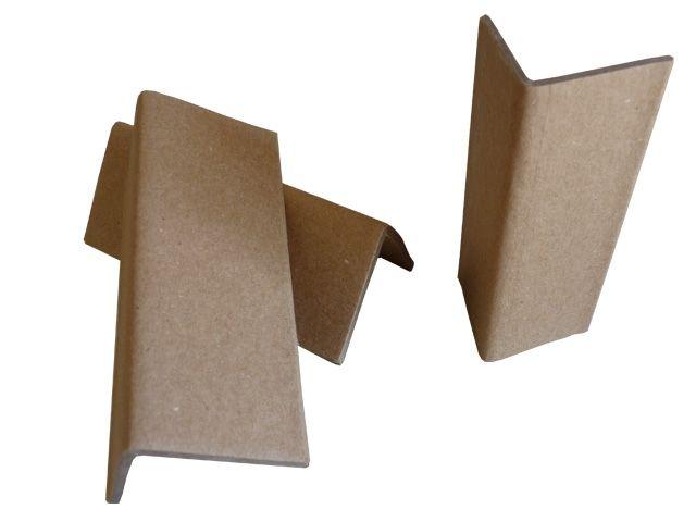 Kantenschutzwinkel aus brauner Vollpappe - 100x45x45x3 mm