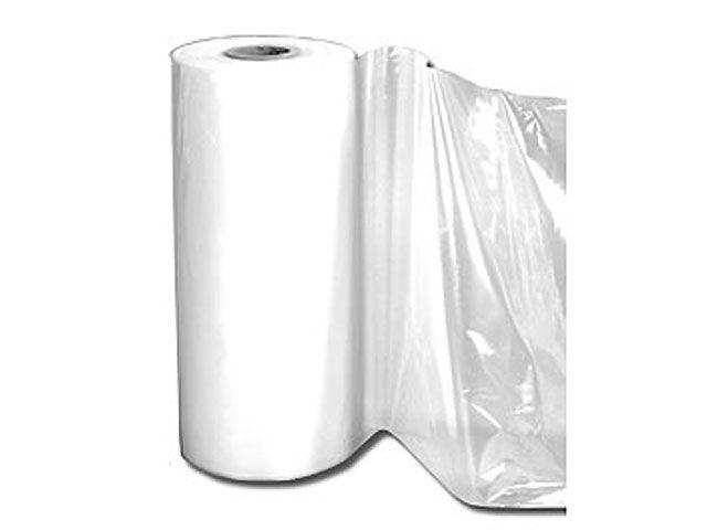 LDPE-Abdeckfolie, transparent - 2x100m - 100 my