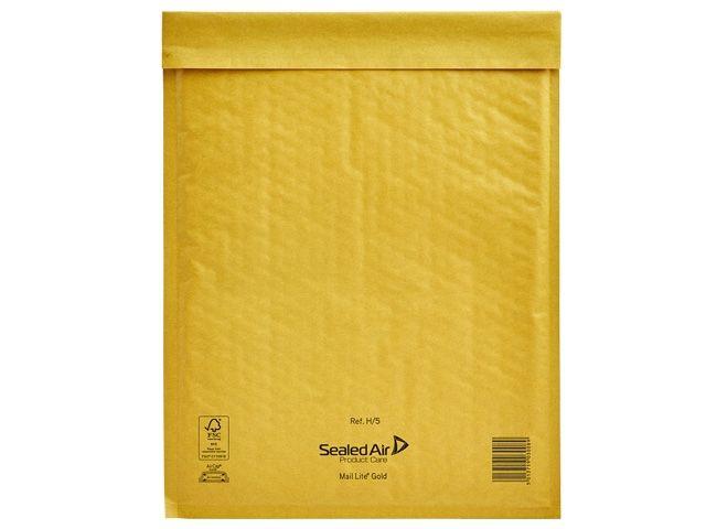 Luftpolsterversandtasche Mail Lite®, gold - 270x360 mm