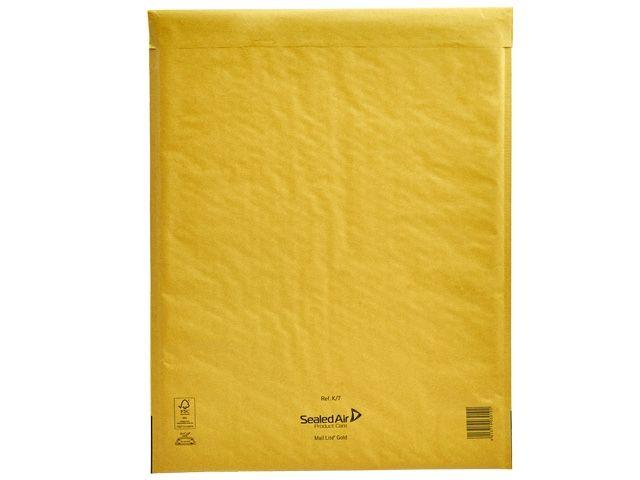Luftpolsterversandtasche Mail Lite®, gold - 350x470 mm