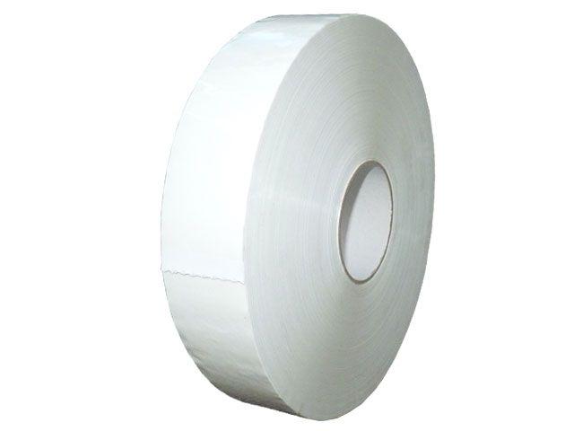 Maschinenklebeband aus PP, weiß - 50mmx990m - Hotmeltklebstoff - 42 µ Gesamtstärke
