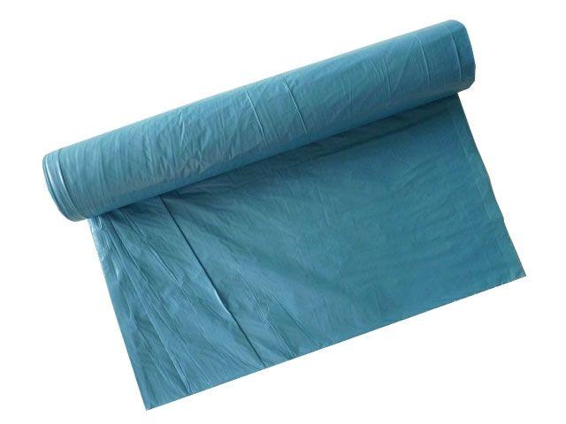 Müllsäcke - Müllbeutel aus LDPE, blau - 70 L - 575x1000 mm, Typ 100 - 78my