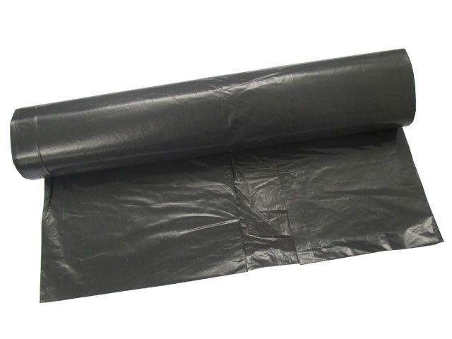 Müllsäcke - Müllbeutel aus LDPE, grau - 120 L - 700x1100 mm, Typ 60 extra - 35my