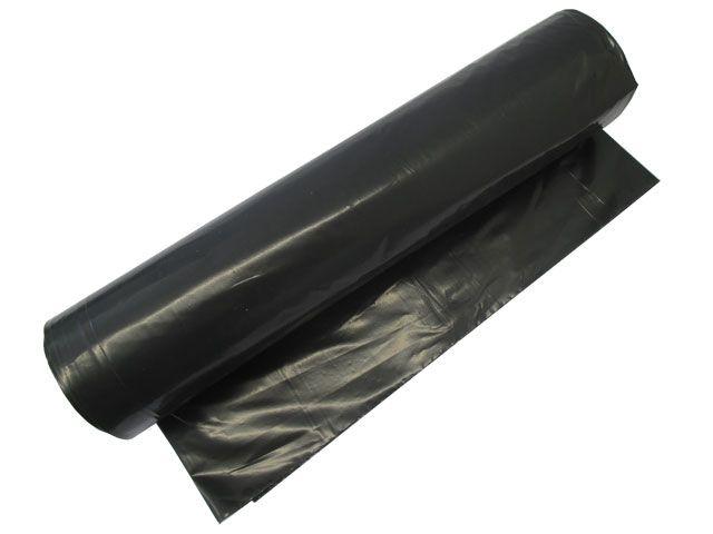 Müllsäcke - Müllbeutel aus LDPE, schwarz - 120 L - 700x1100 mm, Typ 100 premium - 78my
