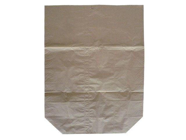 Papier-Abfallsäcke 2-lagig 2x70g/m² - ohne Druck 70 L - 550x850+200 mm