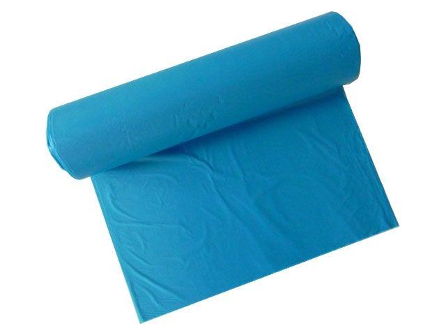 Müllsäcke - Müllbeutel aus HDPE, blau - 200 L - 850x1250 mm Typ 23 - 22my