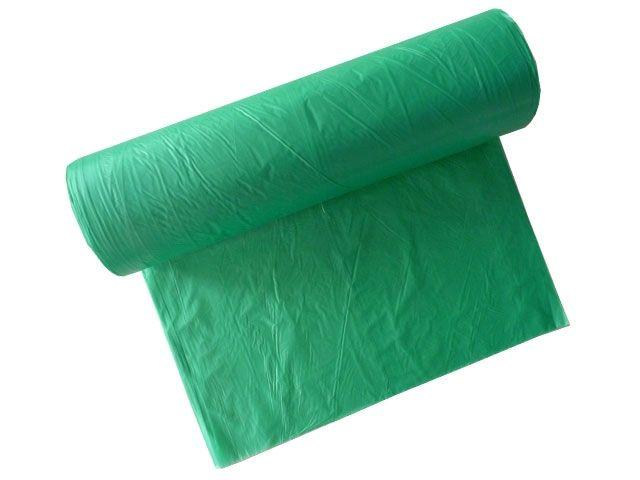 Müllsäcke - Müllbeutel aus HDPE, grün - 120 L - 700x1100 mm Typ 20 - 16my