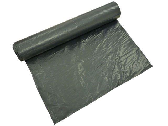 Müllsäcke - Müllbeutel aus LDPE, schwarz - 120 L - 700x1000 mm, Typ 60 - 31my