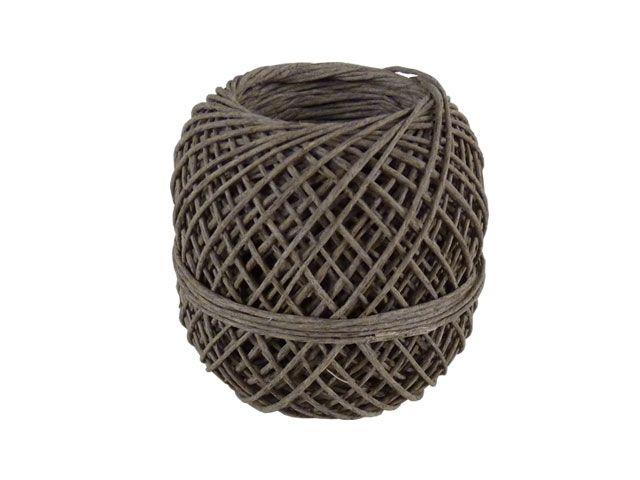 Naturfaserbindfäden - extra fein - 60m-Knäuel - für Pakete bis 3 Kg