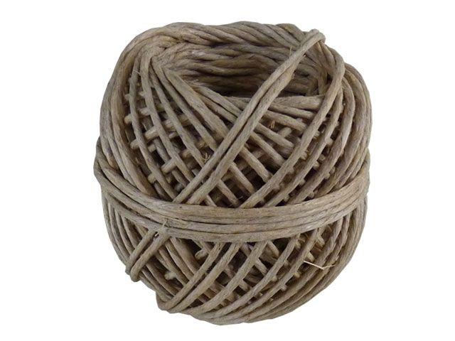 Naturfaserbindfäden - mittelstark - 20m-Knäuel - für Pakete bis 15 Kg