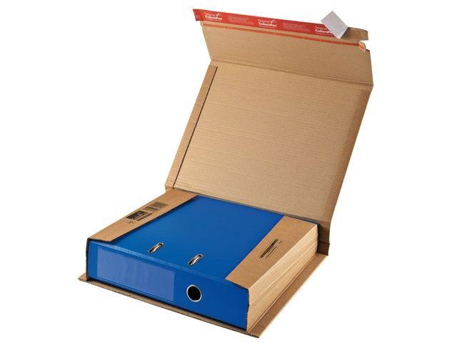 Ordner Versandverpackung, braun - 320x290x35-80mm - TYP ColomPac CP 050.01