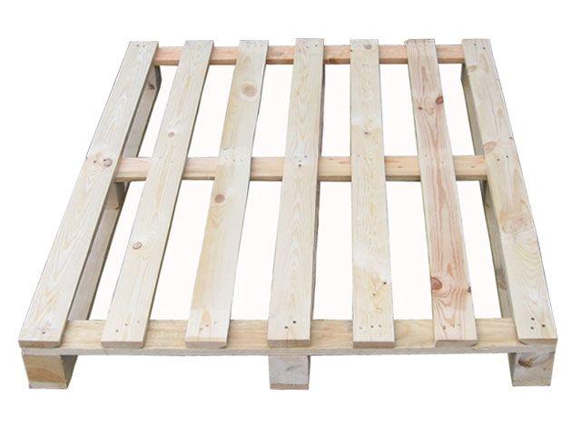 Holzeinwegpaletten - 1000x1200 mm - NEU - 17 mm Deckbretter - IPPC-behandelt