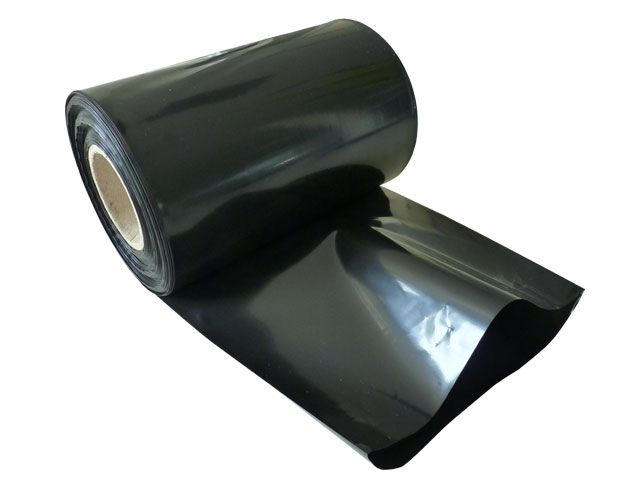 250 m je Rolle transparent 76er Kern LDPE Schlauchfolie 300mm x 0,1 mm 100 my
