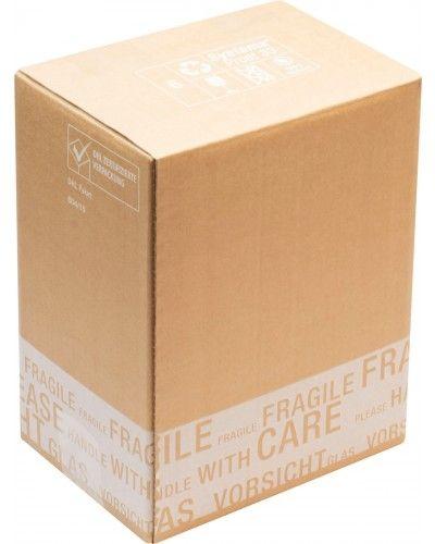 flaschenverpackung f r 6 flaschen 215x150x265 mm 0 33l dhl zulassung. Black Bedroom Furniture Sets. Home Design Ideas