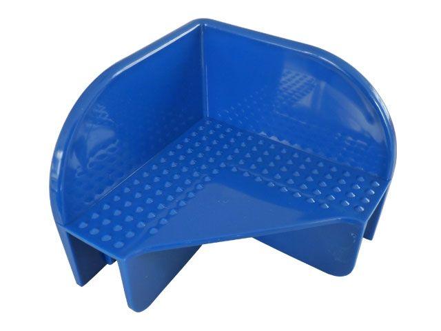 Stapelecken für Holzaufsatzrahmen - Farbe: blau