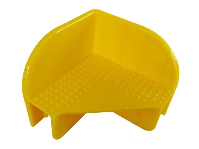 Stapelecken für Holzaufsatzrahmen - Farbe: gelb